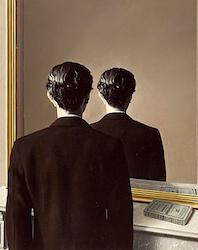 René Magritte - La reproduction interdite - 1937 - Museum Boijmans van Beuningen Rotterdam