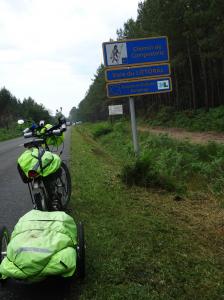Camino Francès Landes
