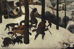 Brueghel, Jagers in de sneeuw - Het Schot