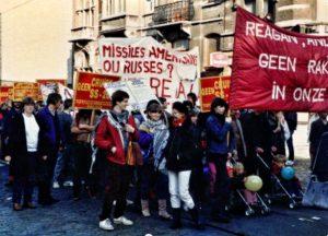 Brussel Rakettenbetoging 23 oktober 1983